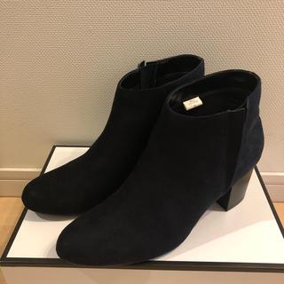 ムジルシリョウヒン(MUJI (無印良品))の無印良品 スエードショートブーツM(ブーツ)