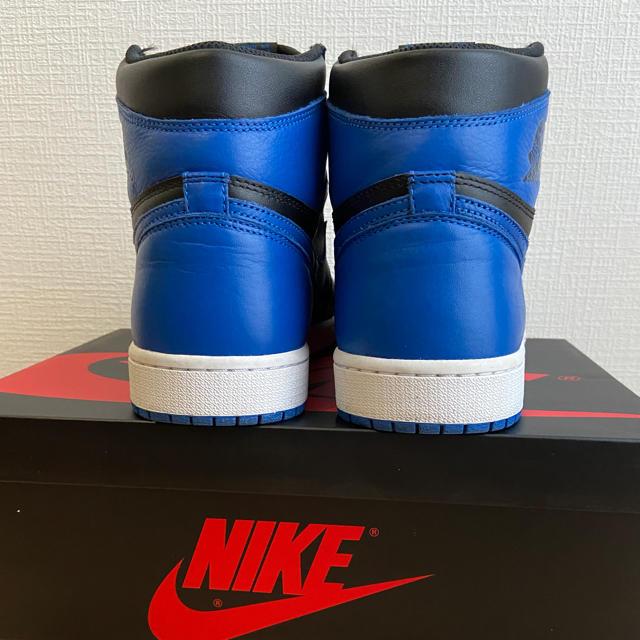 NIKE(ナイキ)のAIR JORDAN 1 RETRO HIGH OG 27.5 ROYAL メンズの靴/シューズ(スニーカー)の商品写真