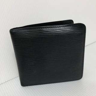 LOUIS VUITTON - ルイ ヴィトン エピ ブラック 2つ折り財布