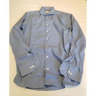 定価3.5万円 ETON イートン チェックシャツ クチネリ好きならおすすめ!(シャツ)