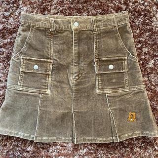 バツ(BA-TSU)のミニバツ コーディロイスカート(スカート)