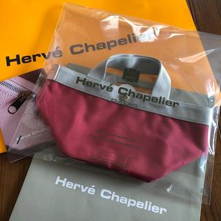 Herve Chapelier - エルベシャプリエ 新品トートバッグ