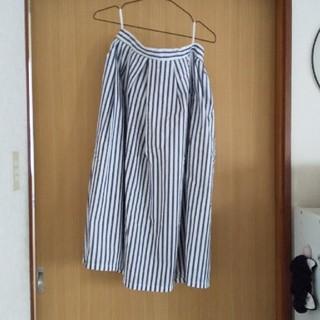 GU - アメリカンホリックストライプスカート