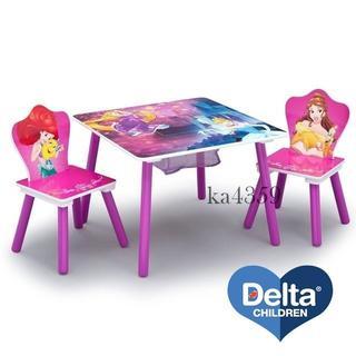 ディズニー(Disney)のDelta ディズニー プリンセス テーブル&チェア2脚セット(その他)