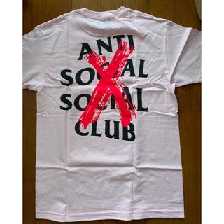 【新品未使用】2019AW ASSC Tシャツ M ピンク (Tシャツ/カットソー(半袖/袖なし))