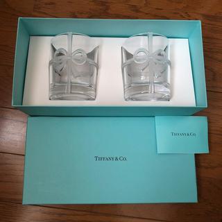 Tiffany & Co. - 【新品・未使用】Tiffany&Co. ペア ボウグラス