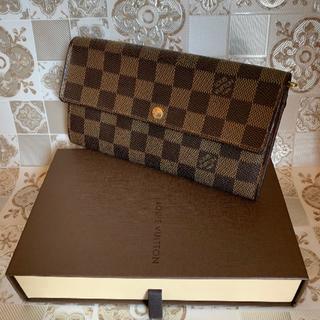 LOUIS VUITTON - LOUIS VUITTON ルイヴィトン ダミエ 長財布 正規品 中古美品