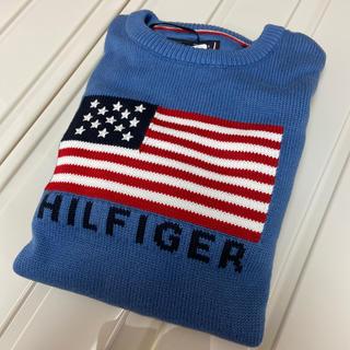 トミーヒルフィガー(TOMMY HILFIGER)の新品 トミーヒルフィガー ニット 150(ニット)