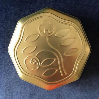 美品☆花椿ビスケット 115周年記念缶(小物入れ)