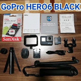 GoPro - 【お得セット】GoPro HERO6 BLACK 後期モデル✨