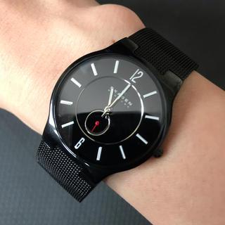 スカーゲン(SKAGEN)のSKAGEN チタニウム 腕時計(腕時計(アナログ))