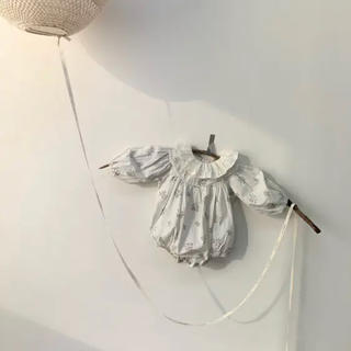 韓国子供服 monbebe ロンパース M(ロンパース)