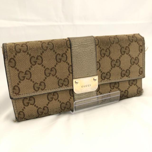 腕 時計 長方形 レディース 偽物 、 Gucci - ☆セール☆ GUCCI グッチ 財布 長財布 レディース ブランドの通販