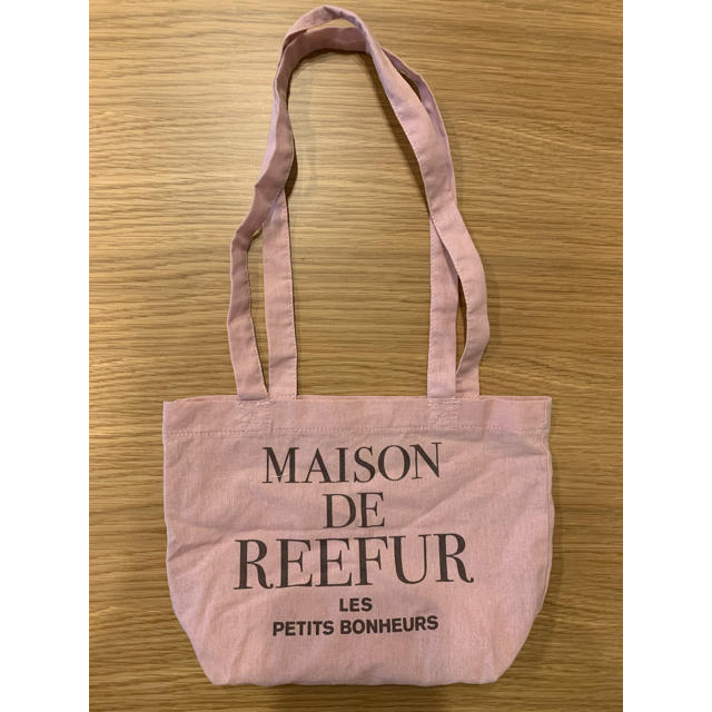 Maison de Reefur(メゾンドリーファー)の新品未使用 MAISON DE REEFUR ミニトートバック レディースのバッグ(トートバッグ)の商品写真