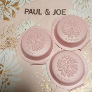 ポールアンドジョー(PAUL & JOE)のポール&ジョー セッティングパウダー  01フェイスパウダー  3点(フェイスパウダー)