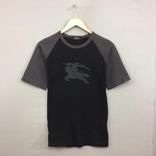 バーバリーブラックレーベル(BURBERRY BLACK LABEL)のバーバリー BURBERRY BLACK LABEL 半袖 Tシャツ ビックロゴ(Tシャツ(半袖/袖なし))