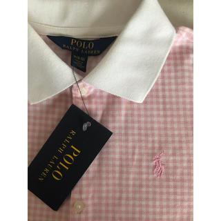 Ralph Lauren - ポロシャツ 女の子 140 ラルフローレン ピンク