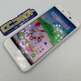 ディズニー(Disney)のドコモ DM-01J ホワイト ジャンク(スマートフォン本体)