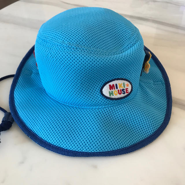 mikihouse(ミキハウス)のミキハウス UVテンガロンハット 52 キッズ/ベビー/マタニティのこども用ファッション小物(帽子)の商品写真