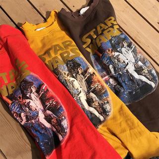 ビッグシルエット スターウォーズ Tシャツ  XH46Chaw(Tシャツ(半袖/袖なし))