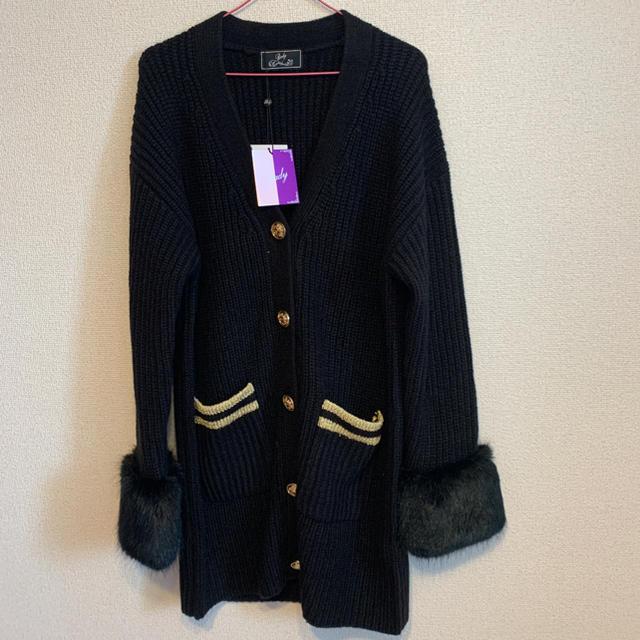 Rady(レディー)のニットコート Rady レディースのジャケット/アウター(ニットコート)の商品写真
