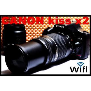 Canon - ★極上美品★スマホ転送♥初心者オススメ一眼レフ♥Canon kiss x2