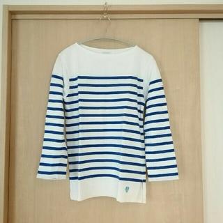 オーシバル(ORCIVAL)のオーチバル バスクシャツ 七分袖(カットソー(長袖/七分))