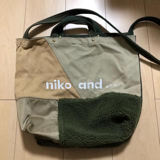 niko and... - niko and... ショルダーバック