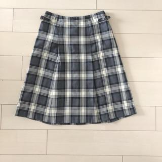 ジェイプレスレディス(J.PRESS LADIES)のジェイプレス チェック柄 プリーツスカート(ひざ丈スカート)