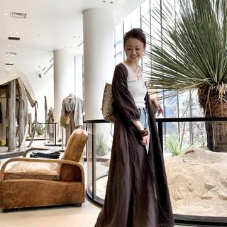 L'Appartement DEUXIEME CLASSE - Linen Madam Dress