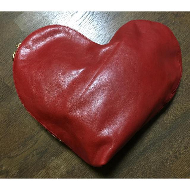 beautiful people(ビューティフルピープル)の最終値下☆ビューティフルピープル ハート クラッチ レディースのバッグ(クラッチバッグ)の商品写真