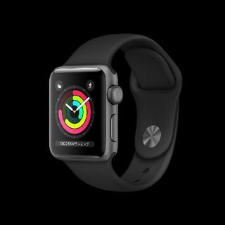 Apple Watch - apple watch season3 38mmGPSモデル