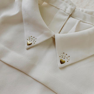 THE EMPORIUM - ハート襟シャツ