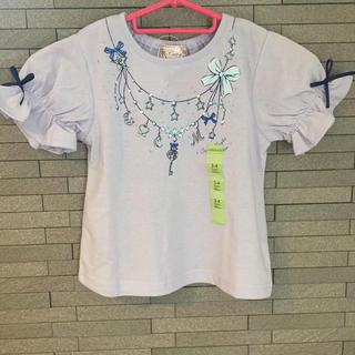 マザウェイズ(motherways)のマザウェイズ Tシャツ 100㎝ ネックレス柄 新品 未使用 カットソー(Tシャツ/カットソー)