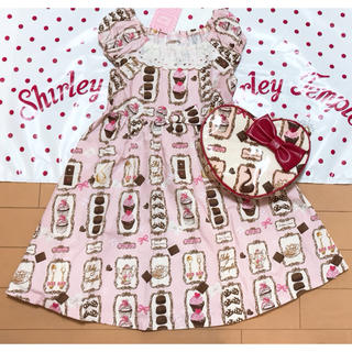 Shirley Temple - 新品 シャーリーテンプル ワンピース+ポシェットセット