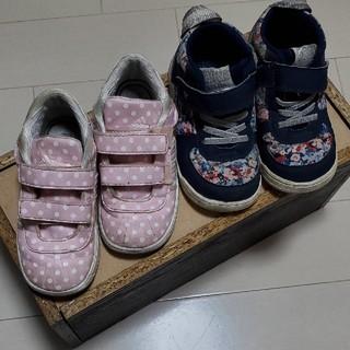 adidas - 15 15.5 16 adidas ブランシェス スニーカー アディダス 女の子