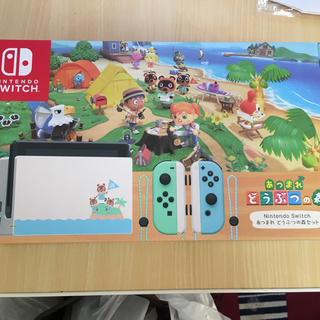 Nintendo Switch - Nintendo Switch あつまれどうぶつの森セット同梱版