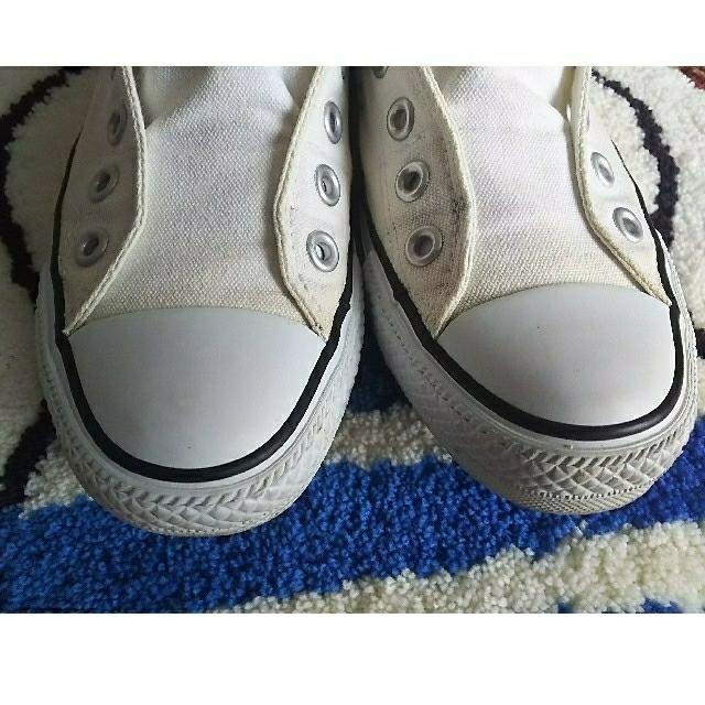 CONVERSE(コンバース)のコンバーススリッポン*スリップスニーカー*24 レディースの靴/シューズ(スリッポン/モカシン)の商品写真