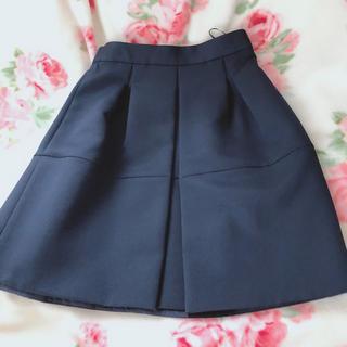 Apuweiser-riche - 美品♡ネイビー色スカート♡