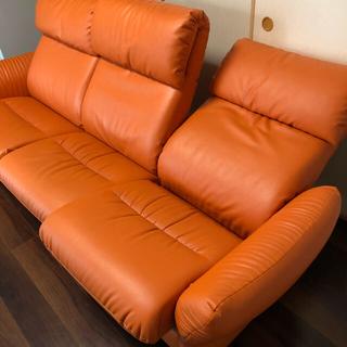 ニトリ - 東京インテリア リクライニングソファー リクライニング ソファー  3人掛け