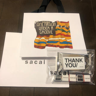 sacai - sacai  ショッパー ノベルティ