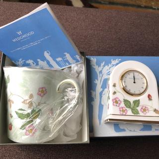 WEDGWOOD - ウェッジウッドマグカップと置き時計