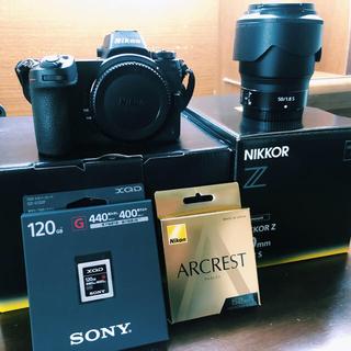 Nikon - 【値引中】Nikon Z6 カメラ レンズ XQD120GB フィルター