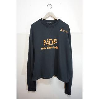 ラフシモンズ(RAF SIMONS)のラフシモンズ NDF クロップド スウェット トレーナー Tシャツ 722J▲(Tシャツ/カットソー(七分/長袖))