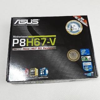 ASUS - 「ASUS P8H67-V」マザーボード 中古品