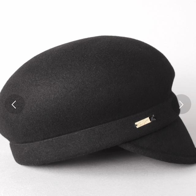 CA4LA(カシラ)のCA4LA/完売商品/アシンメトリーキャスケット レディースの帽子(キャスケット)の商品写真