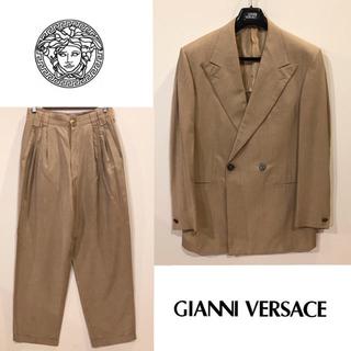 ジャンニヴェルサーチ(Gianni Versace)のGianniVersace シルク100% セットアップ(セットアップ)