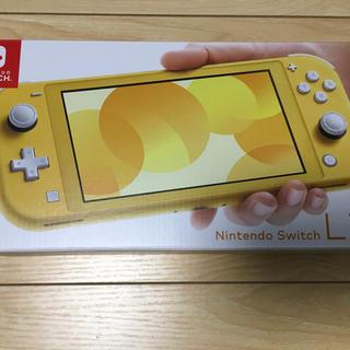 ニンテンドースイッチ(Nintendo Switch)のNintendo Switch Lite イエロー 保護フィルム付(家庭用ゲーム機本体)