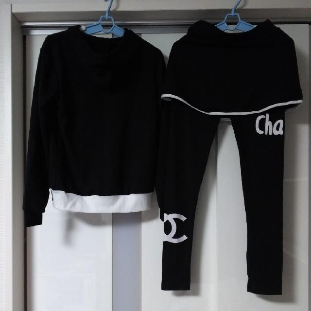 CHANEL(シャネル)のyumiyumi専用  パーカー&スカパンセットアップ レディースのレディース その他(セット/コーデ)の商品写真