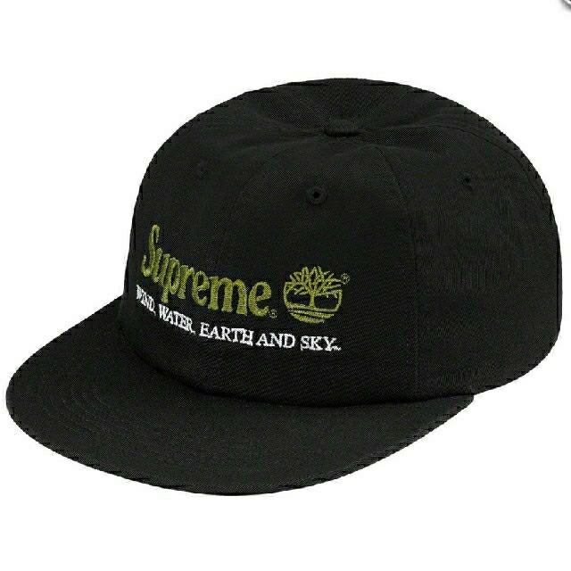 Supreme(シュプリーム)の黒 Supreme Timberland 6-Panelティンバーランド メンズの帽子(キャップ)の商品写真